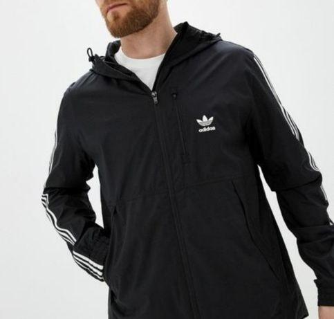 Kurtka Wiatrówka Bluza Adidas Originals Windbreaker Rozm XS