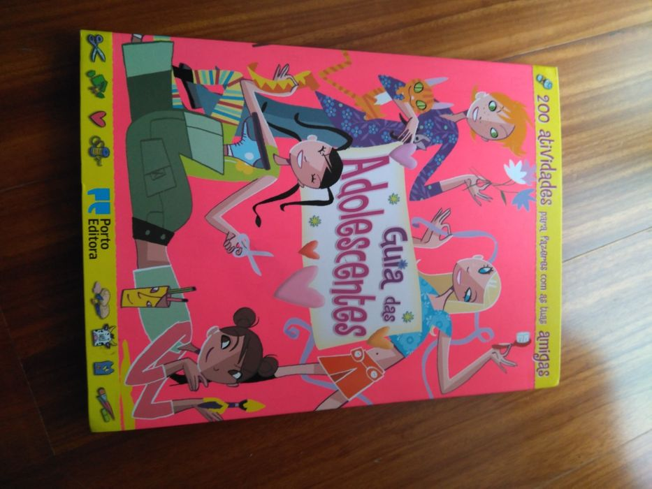 Livro novo Guia das Adolescentes Porto Editora Maceira - imagem 1