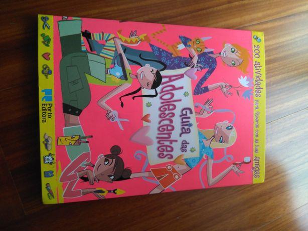 Livro novo Guia das Adolescentes Porto Editora