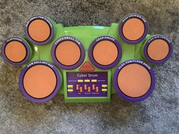 Cyber Drum elektroniczna perkusja na baterie.