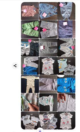 Ubrania dziecięce chłopiec 62-74