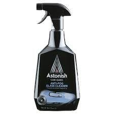 Средство для чистки стекол для предотвращения запотевания Astonish
