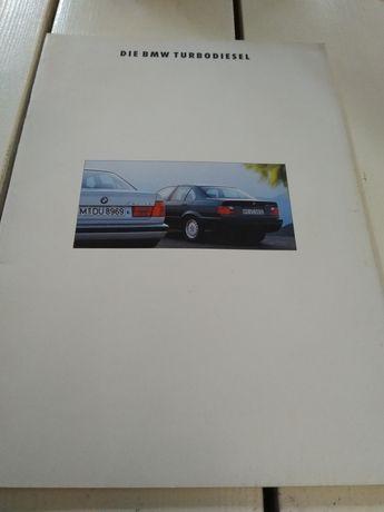 Prospekt BMW Turbo diesel