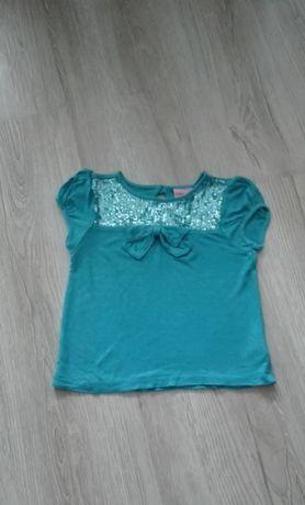 Ubranka bluzka dziewczynka 110 +