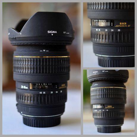 Sigma 20-40 2,8 EX DG Canon EF