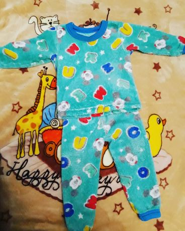 Пижама махровая очень теплая