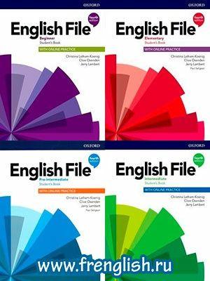 ENGLISH FILE 4 видання. Всі рівні. Якісні сканкопії