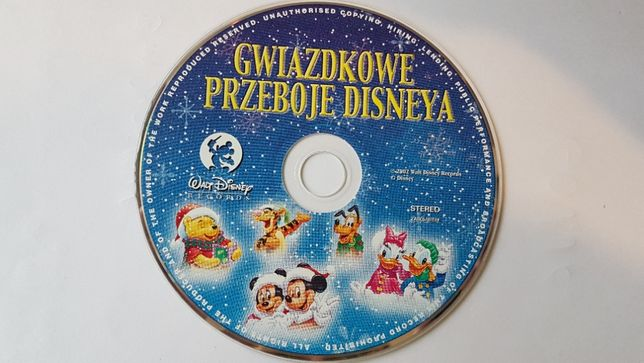 Disney - Gwiazdkowe przeboje Disney'a CD
