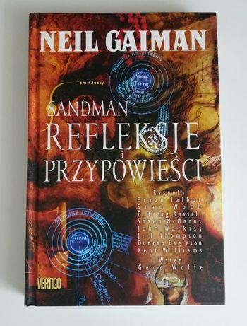 Neil Gaiman - Sandman: Refleksje i przypowieści (stan idealny)