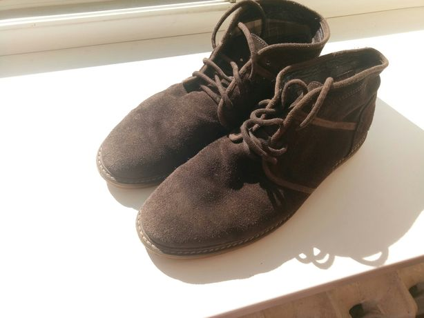 Desert boots. Pull and Bear. Ботинки. Осенние. Мужские.