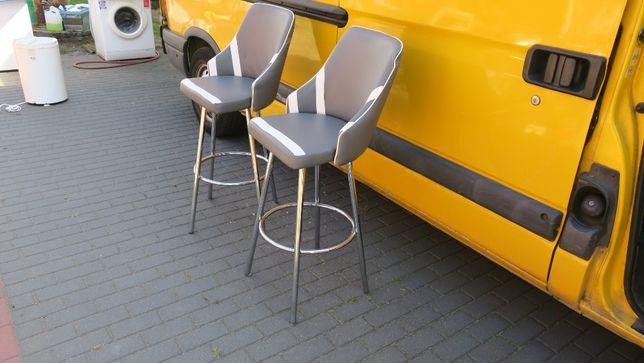 Hoker stołek obrotowy 2 szt.