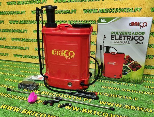 Pulverizador a Bateria + Manual - 2 em 1 - 16 Litros - NOVIDADE !!!