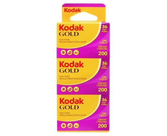 Rolos Fotográficos  Kodak Gold 135mm