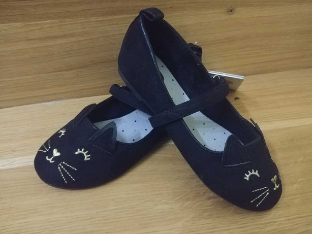Nowe Smyk baleriny baletki pantofelki Kotki dla dziewczynki 30