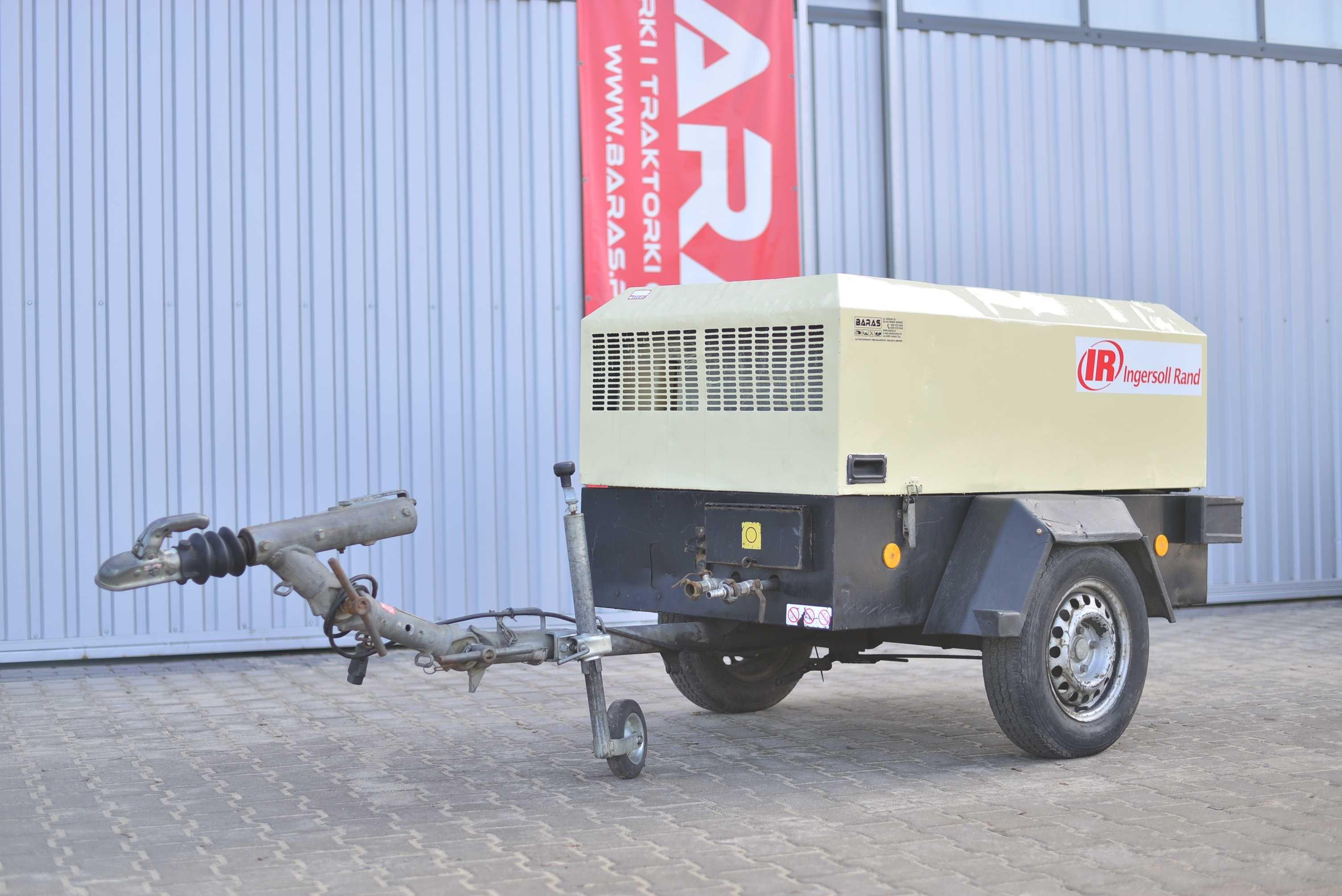Kompresor śrubowy - spalinowy Ingersoll Rand (250203)   BARAS