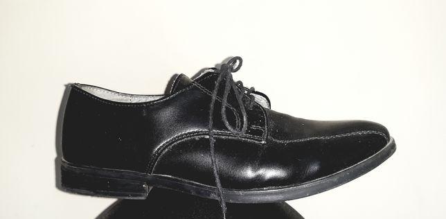 Eleganckie buty lakierki