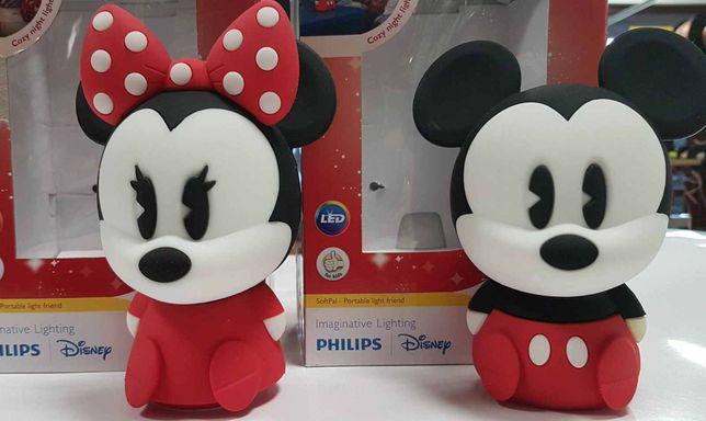 Lampka nocna LED PHILIPS Minnie i Mickey Mouse