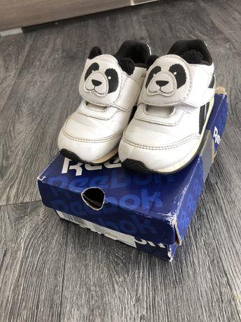 Buty sportowe reebok dzieciece chlopiece dziewczece biale pandy 23 24