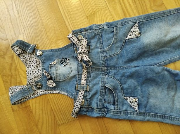 Комбинезон джинсовий сарафан штани джинси