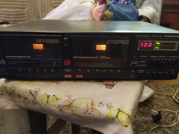 двухкассетный магнитофон романтика мп 225