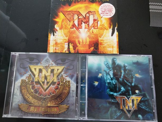 Hard rock legend/TNT/zestaw 3 cd/rarytasy