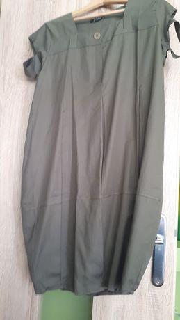 Sukienka khaki bombka