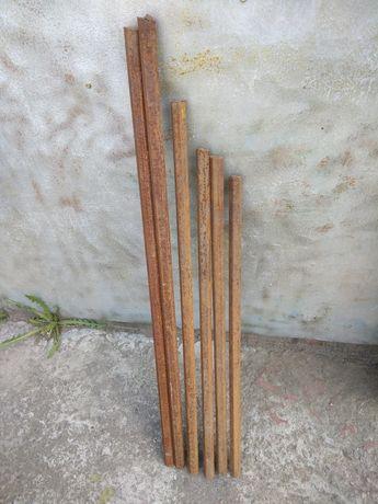 Остатки прута шестигранника 24мм для токарных работ.