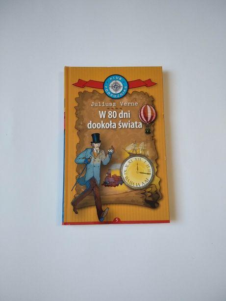 NOWA W 80 dni dookoła świata Juliusz Verne Klób podróżnika 5 książka