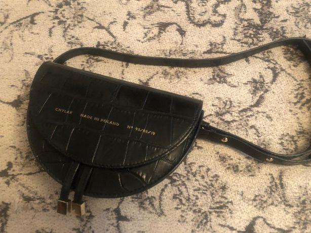 chylak mini czarna torebka