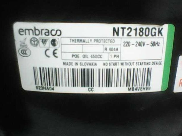 Холодильний компресор Embraco NT2180GK, б/в