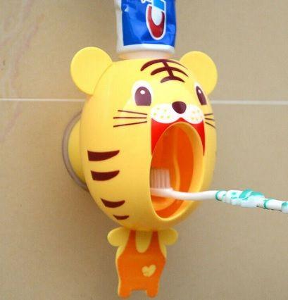 Детский автоматический дозатор зубной пасты
