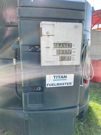 Zbiornik ON Diesel Titan Eko Fuelmaster 5000L Olej Napędowy