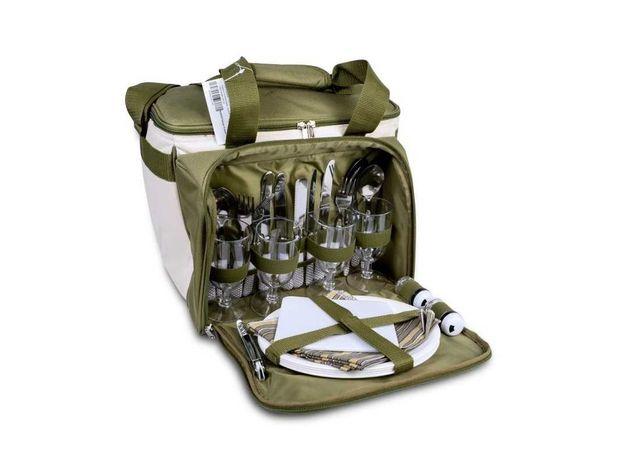 Набор для пикника Ranger. Посуда + Термосумка. Отличный подарок