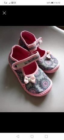 Sandałki dziewczece r. 25