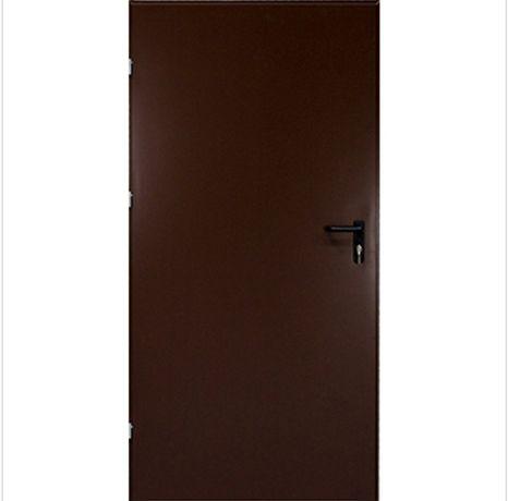 Drzwi techniczne ocieplane