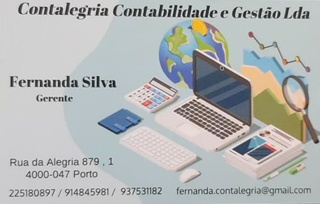 Contabilidade e Gestao    Contalegria L.D.A.  ,   Porto