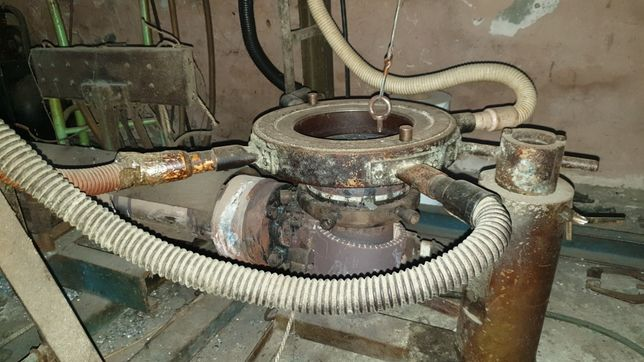 Układ uplastyczniający do folii LDPE z napędem 7.5KW
