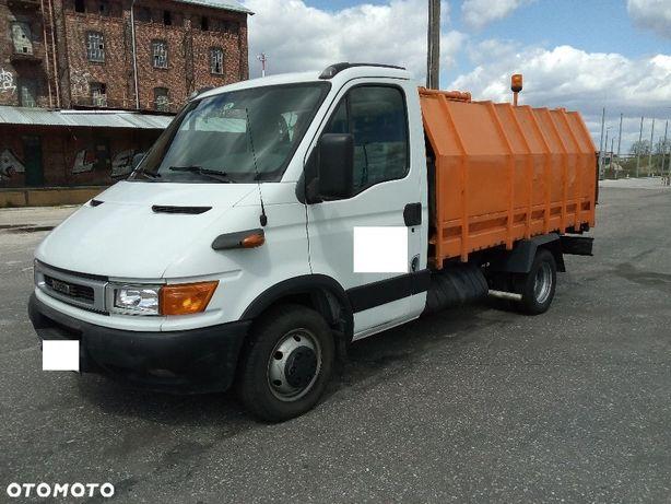 Iveco Daily  50C13, śmieciarka, przebieg tylko 178000, hydraulika z PTO,