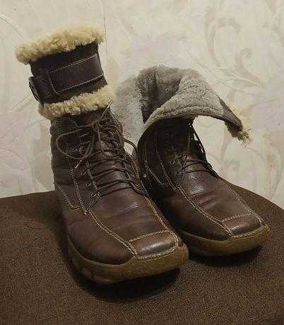 Зимние сапоги, натуральная кожа/мех