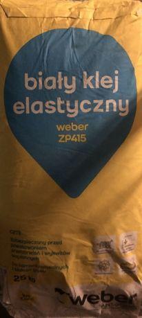 _ _ Weber - Biały Klej Elastyczny ZP415 - Płytki Gres Glazura Terakota