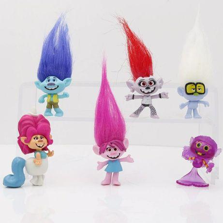 Фигурки Тролли Trolls набор 6 штук