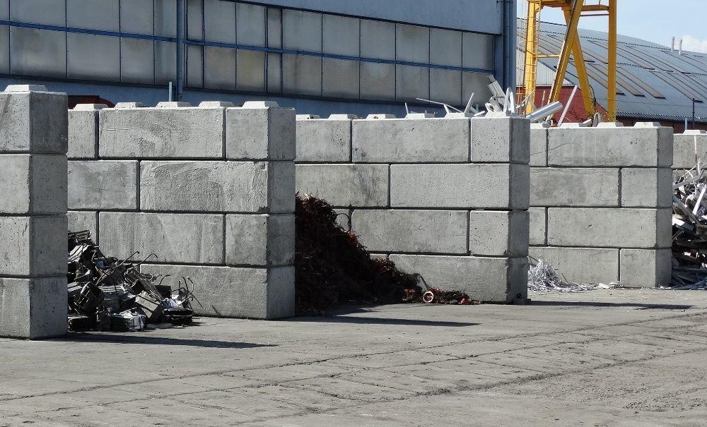 Bloki betonowe, Mury oporowe, Zasieki, Boksy, Hale, Kostki, Bloczki Żywiec - image 1