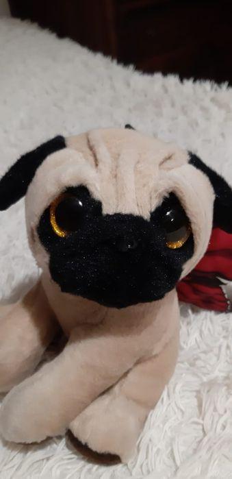 Плюшевая игрушка собака.Pugs and kisses. Каменец-Подольский - изображение 1