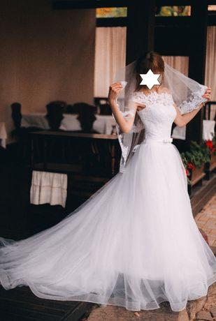 Свадебное платье Laura Style, р.XS-М (40-44)