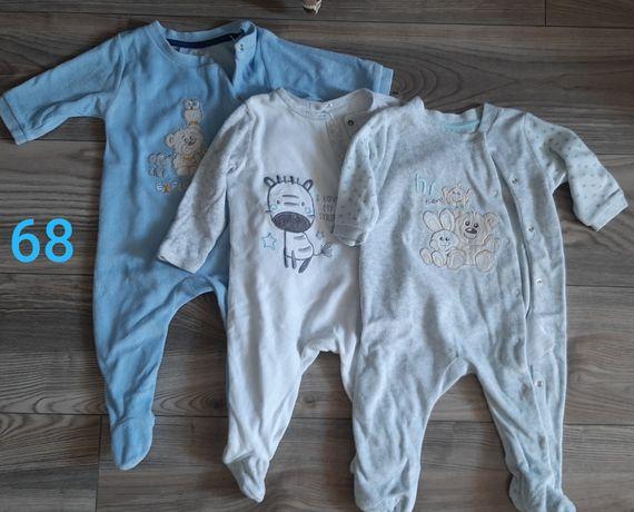 Paka ubrań dla chłopca 68-74