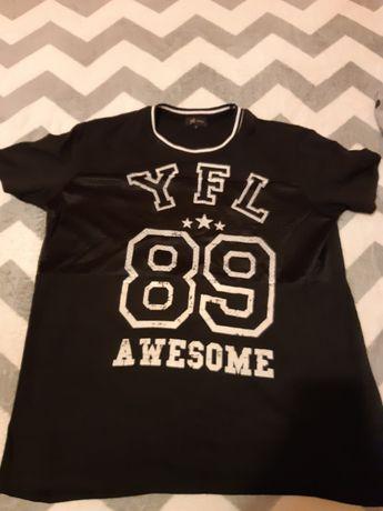 super koszulka t shirt czarna