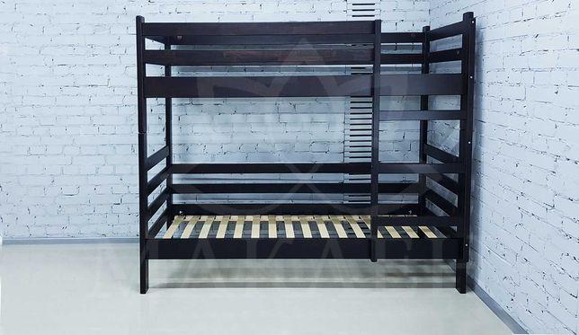 Двоярусне, розбірне ліжко 80*190