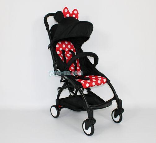 Коляска Yoya baby time прогулочная коляска Минни + год гарантии