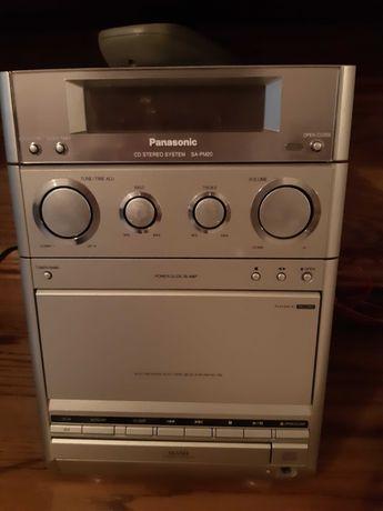 Mini aparelhagem Panasonic com colunas Sony