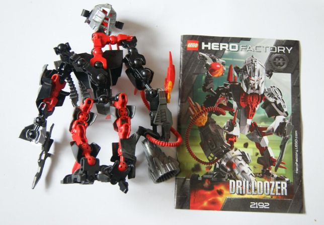 Lego Hero Factory: 2192 - Drilldozer